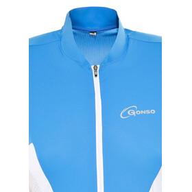 Gonso Febe Fietsshirt korte mouwen Dames blauw
